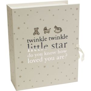 Twinkle Twinkle Little Star Baby Keepsake Box