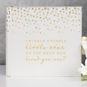 Bambino Little Stars Photo Album - Twinkle Twinkle