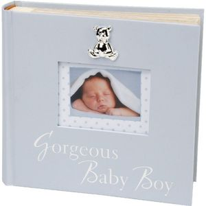 "Celebrations Baby Photo Album 6"" x 4"" - Gorgeous Baby Boy"