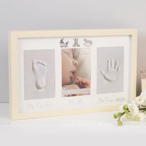 Juliana Bambino Baby Collage Photo Frame - My Tiny Foot My Photo My Tiny Hand