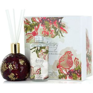 Ashleigh & Burwood Artistry Collection Reed Diffuser Gift Set - Christmas Time