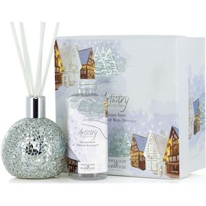 Ashleigh & Burwood Artistry Collection Reed Diffuser Gift Set - Frosted Snow