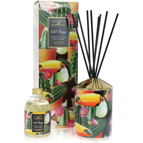 Ashleigh & Burwood Reed Diffuser Gift Set Wild Things Collection: Toucan Play That Game