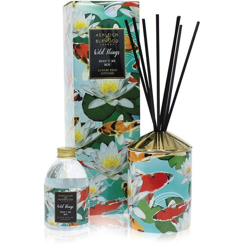 Ashleigh & Burwood Reed Diffuser Gift Set Wild Things Collection: Don't be Koi