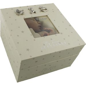 Juliana Bambino Baby Keepsake Box - My First Keepsakes & My First Outfit
