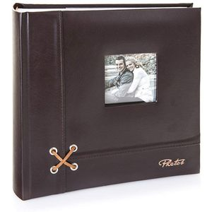 """Kenro Piazza Collection Memo Style Photo Album Holds 200 Photos 6"""" x 4"""""""
