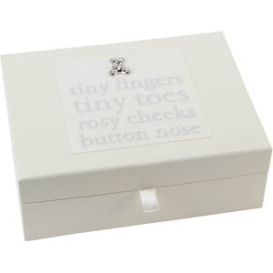 Juliana Bambino Keepsake Box - Tiny Fingers Tiny Toes