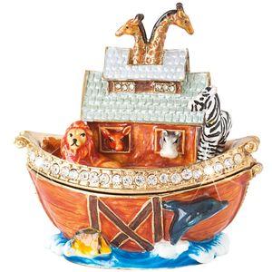 Craycombe Trinkets Noah's Ark Trinket Box