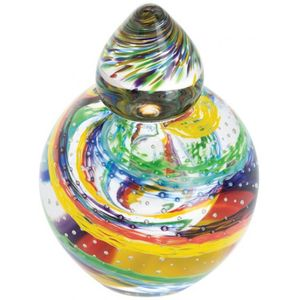 Caithness Glass Giftware: Rainbow Pride - Bottle