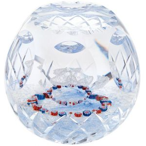 Caithness Crystal Shimmering Bells Paperweight