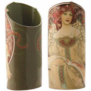 John Beswick Mucha - Reverie (Art Nouveau Lady) Vase