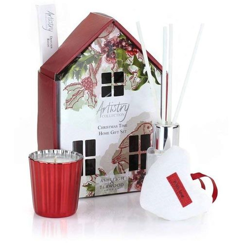 Ashleigh & Burwood Artistry Collection Home Fragrance Set - Christmas Time