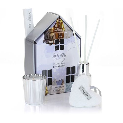 Ashleigh & Burwood Artistry Collection Home Fragrance Set Frosted Snow
