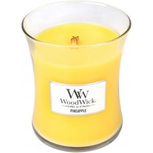 Woodwick Medium Jar Candle - Pineapple