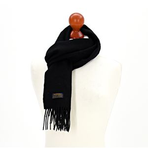 Tweedmill Lambswool Scarf - Black