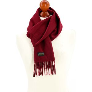 Tweedmill Lambswool Scarf - Wine