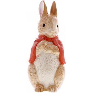 Beatrix Potter Peter Rabbit Sculpted Ceramic Money Bank - Flopsy Bunny