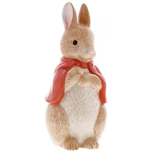 Beatrix Potter Peter Rabbit Sculpted Ceramic Money Bank - Flopsy Bunny A29293