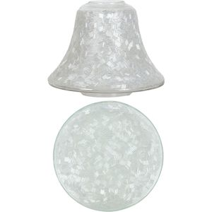 Aroma Jar Candle Shade & Plate Set: Sugar Coat