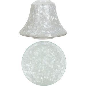 Aromatize Jar Candle Shade & Plate Set Sugar Coat