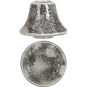 Aromatize Jar Candle Shade & Plate Set Midnight