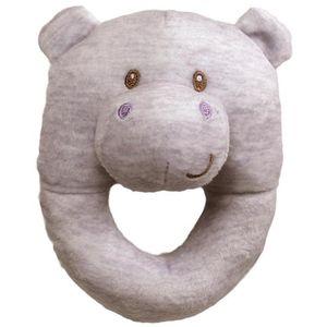 Baby Gund Hippo Rattle