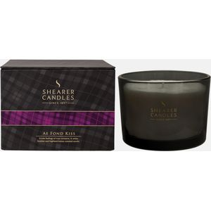 Shearer Candles Highland 3 Wick Candle - AE Fond Kiss