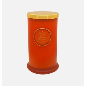 Shearer Candles Orange Pomander candle in a Jar
