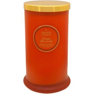 Shearer Candles Pillar Jar Candle - Orange Pomander