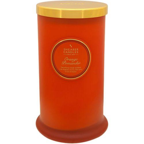 Shearer Candles Pillar Jar Candle - Orange Pomander