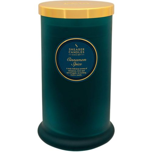 Shearer Candles Pillar Jar Candle - Cinnamon Spice