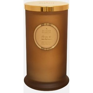 Shearer Candle Cocoa Sandlewood candle in a Jar