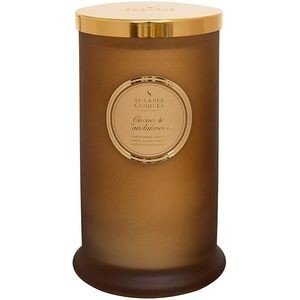 Shearer Candles Pillar Jar Candle - Cocoa & Sandalwood