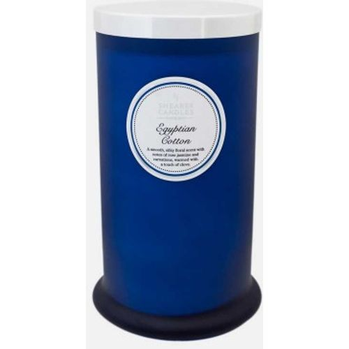 Shearer Candles Pillar Jar Candle - Egyptian Cotton Candle