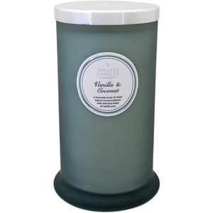 Shearer Candles Pillar Jar Candle - Vanilla & Coconut