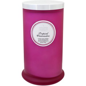 Shearer Candles Pillar Jar Candle - Tropical Watermelon