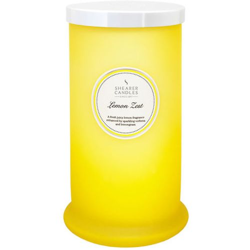 Shearer Candles Pillar Jar Candle - Lemon Zest