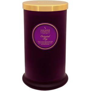 Shearer Candles Pillar Jar Candle - Oriental Fig