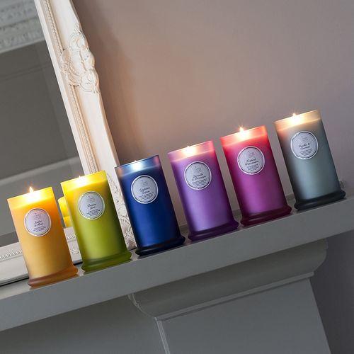 Shearer Candles Pillar Jar Candle - Persian Lime