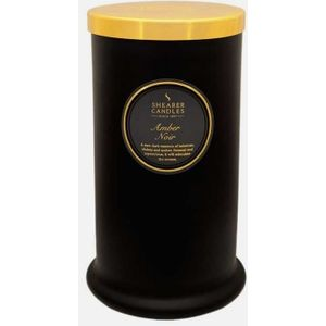 Shearer Candles Pillar Jar Candle - Amber Noir