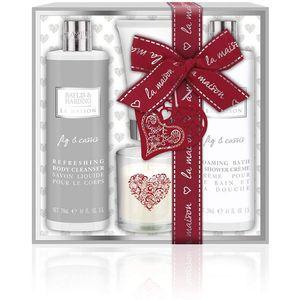 Bayliss & Harding La Maison Bath Gift Set - Fig & Cassis