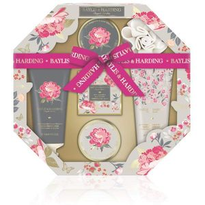 Bayliss & harding Royale Garden hexagonal Tray Gift set