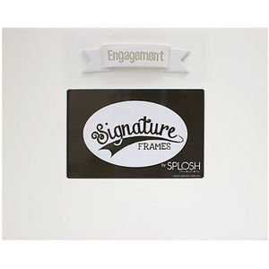 "Splosh Signature Photo Frame 6"" x 4"" - Engagement"