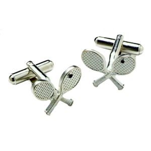 Tennis Racquets Cufflinks