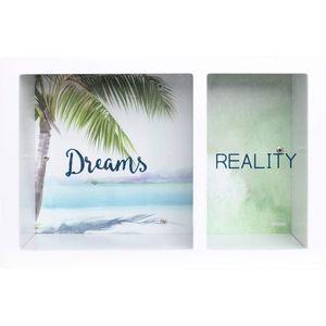 Splosh Split Change Money Box - Dreams & Reality