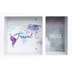 Splosh Split Change Money Box - Travel & Bills