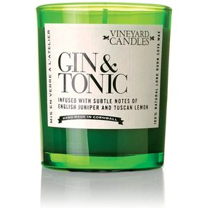Vineyard Candles Single Shot Glass Candle - Gin & Tonic