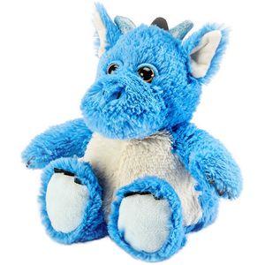 Warmies Microwaveable Plush Soft Toy - Dragon (Blue)
