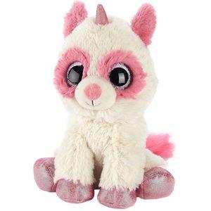 Warmies Microwaveable Plush Soft Toy - Racoonicorn (Pink)
