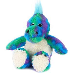 Warmies Microwaveable Plush Soft Toy - Dinosaur (Rainbow)